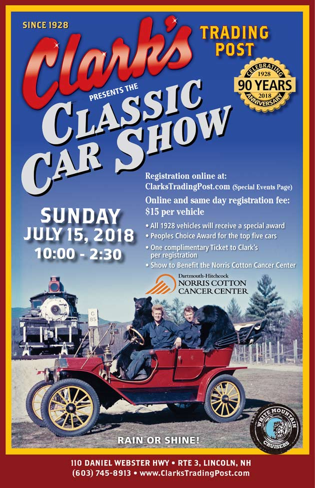 Clarks Classic Car Show Clarks Trading Post Lincoln NH - Classic car events