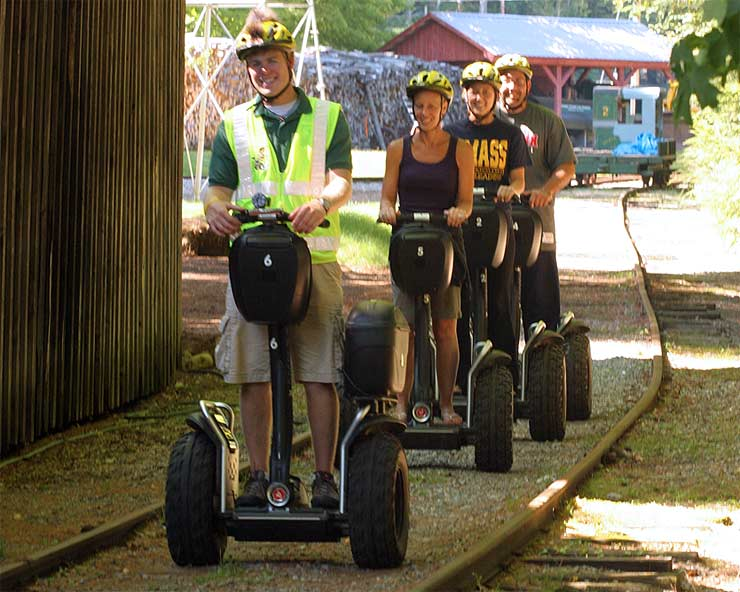 Segway Safari at Clark's Trading Post
