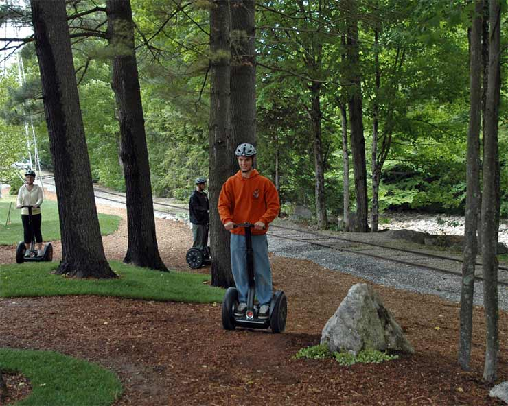 Segway Ride at Clark's Trading Post