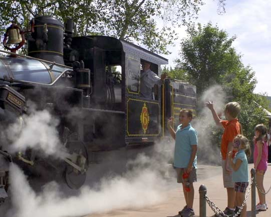 All Kids Aboard: The White Mt. Central RR