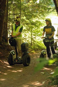 Wolfie's White Mountain Wheelin' Segway Park