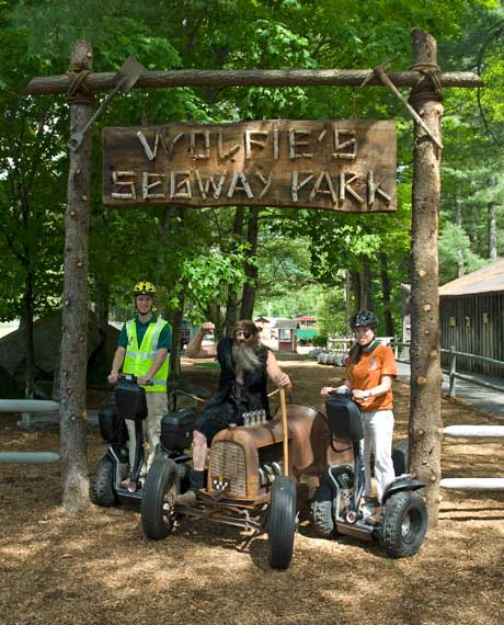 Segway Park & Safari at Clark's Trading Post