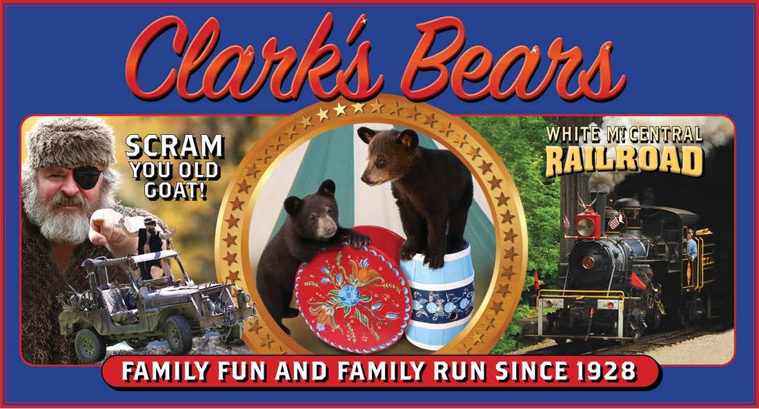 Clark's Bears, Lincoln, NH: Home of Clark's Trained Bears