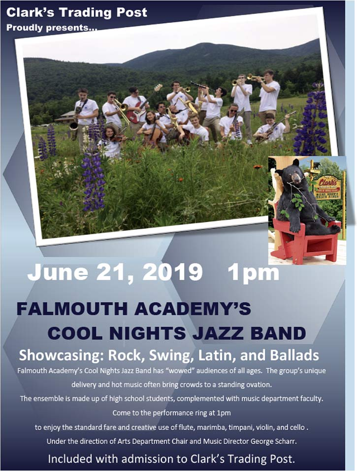 Falmouth Academy's Cool Nights Jazz Band