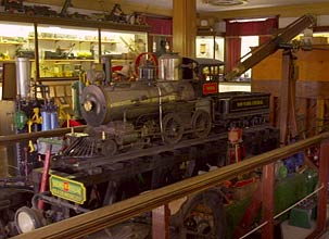 Steam Train Exhibit
