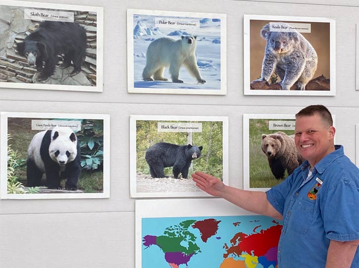 Chez Hill - Bears around the world presentation